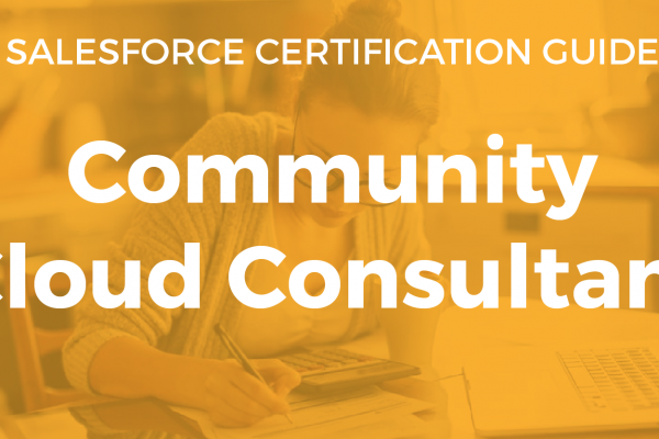 Community Cloud Consultant Resource Guide