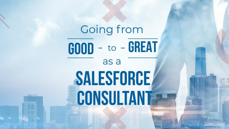 good to great as a salesforce consultant
