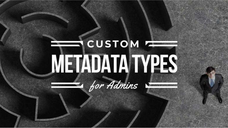 custom metadata types