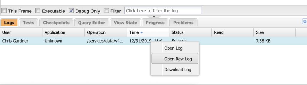 Salesforce community report URL parameters