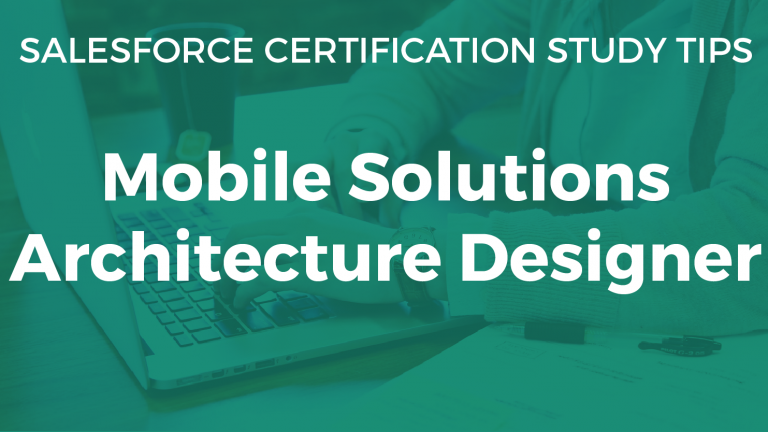Mobile Solutions Architecture Designer