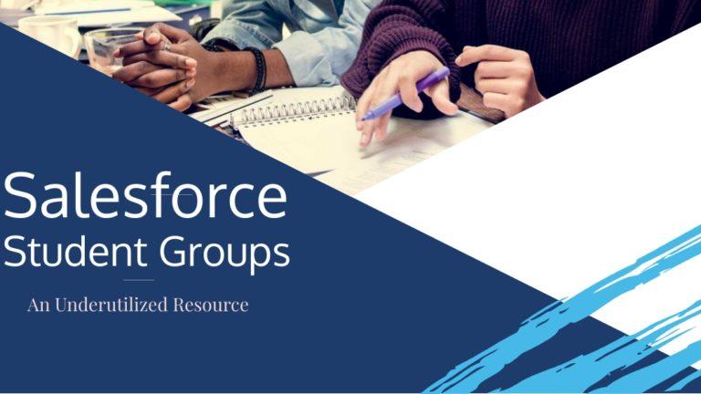 Salesforce Student Groups
