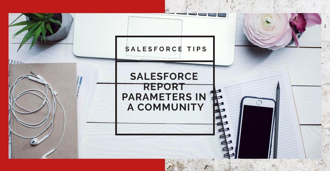 Salesforce Report Parameters in a Community URL