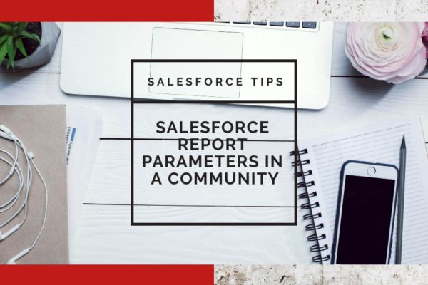 Salesforce Report Parameters in a Community URL