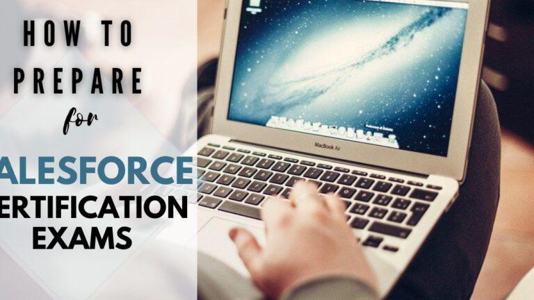 prepare for salesforce certification