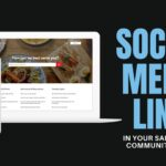 Salesforce Community Social Media Links